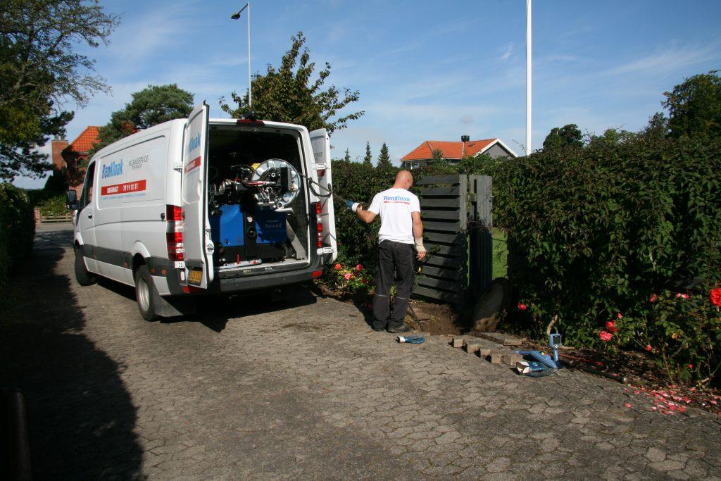 Kloakrensning renkloak bil